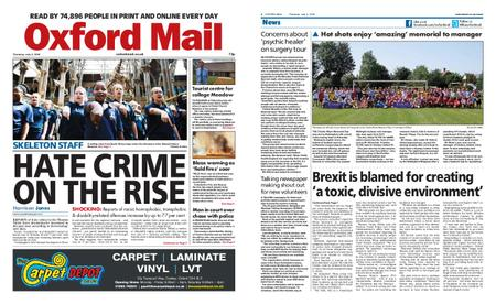 Oxford Mail – July 04, 2019