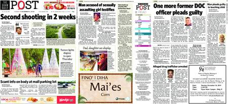 The Guam Daily Post – December 03, 2019