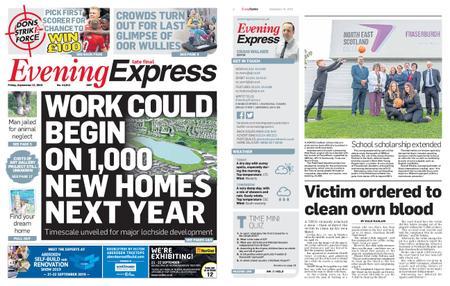 Evening Express – September 13, 2019