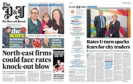 The Press and Journal Aberdeen – September 21, 2020