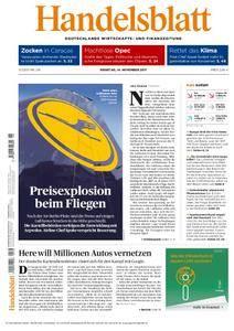 Handelsblatt - 14. November 2017