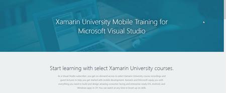 Xamarin University Visual Studio Training (2017)