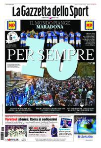 La Gazzetta dello Sport Roma – 27 novembre 2020