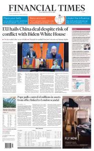 Financial Times Europe - December 31, 2020