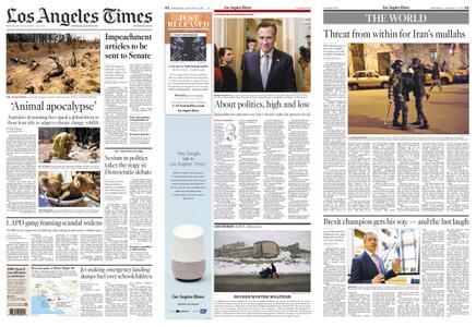 Los Angeles Times – January 15, 2020