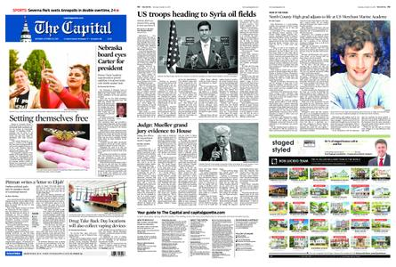 The Capital – October 26, 2019