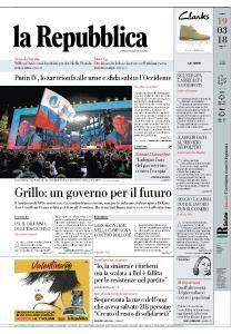 la Repubblica - 19 Marzo 2018