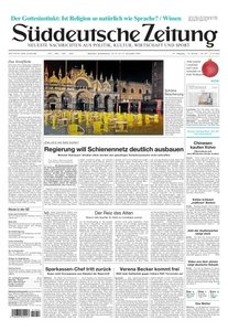Sueddeutsche Zeitung vom 24.12.2009 & ein frohes Fest