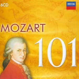 Various Artists - 101 Mozart (2016) {6CD Box Set Decca 478 2963 rel 2011}