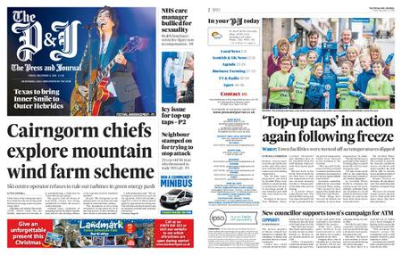 The Press and Journal Moray – December 06, 2019