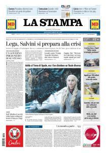 La Stampa Torino Provincia e Canavese - 21 Maggio 2019