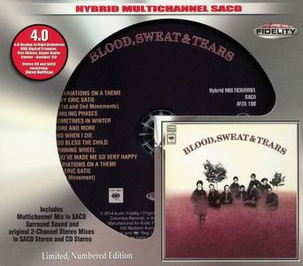 Blood, Sweat & Tears - Blood, Sweat & Tears (1969) [Audio Fidelity 2014] (Repost)