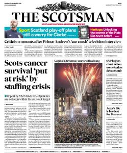 The Scotsman - 18 November 2019