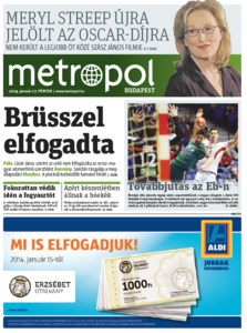 Metro [Hungary - Budapest], 17. Januar 2014