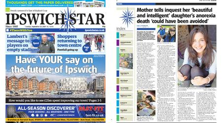 Ipswich Star – September 29, 2020