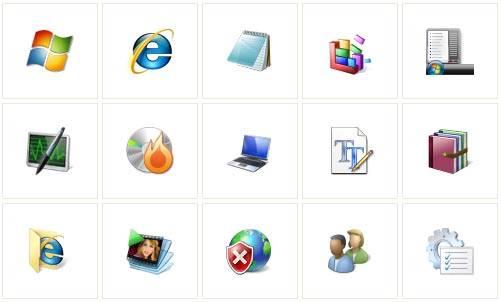 1166 Vista Icons Pack