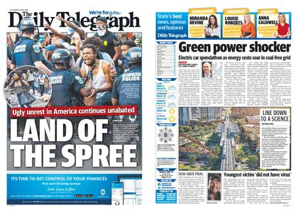 The Daily Telegraph (Sydney) – June 02, 2020