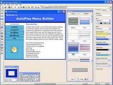 AutoPlay Menu Builder 6.1 Build 1916