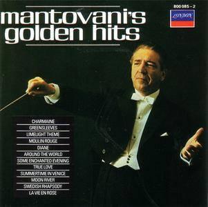 Mantovani & His Orchestra - Mantovani's Golden Hits (1967) {1989 London/Polygram} **[RE-UP]**