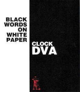 Clock DVA - Black Words On White Paper (EP) (1992) {Contempo}