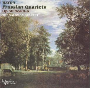 The Salomon String Quartet - Haydn: Prussian Quartets Op.50 Nos 4-6 (1993)