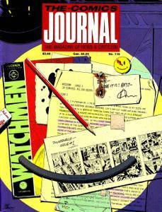 Comics Journal 116 1987-07 Watchmen Moore  Gibbons
