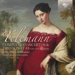 Opera Prima Ensemble & Cristiano Contadin - Telemann: Complete Concertos and Trio Sonatas with Viola da Gamba (2015)