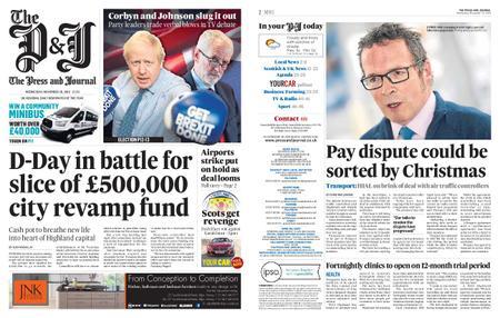 The Press and Journal Moray – November 20, 2019