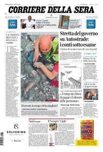 Corriere della Sera - 22 Agosto 2018