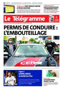 Le Télégramme Brest Abers Iroise – 11 août 2021