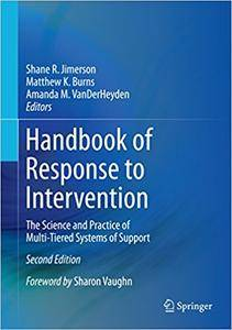 Handbook of Response to Intervention: The Science and Practice of Multi-Tiered Systems of Support (Repost)