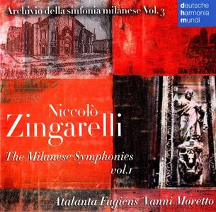 Vanni Moretto, Atalanta Fugiens - Niccolo Zingarelli The Milanese Symphonies Vol.1 (2010)