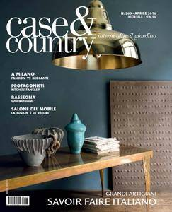 Case & Country - Aprile 2016