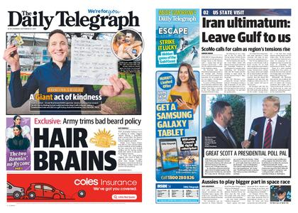 The Daily Telegraph (Sydney) – September 23, 2019