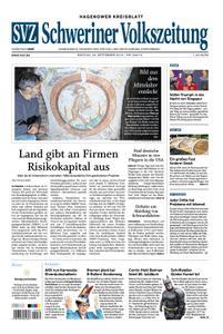 Schweriner Volkszeitung Hagenower Kreisblatt - 23. September 2019