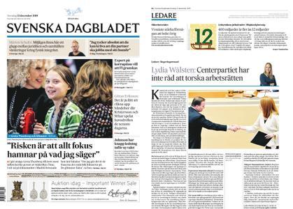 Svenska Dagbladet – 12 december 2019