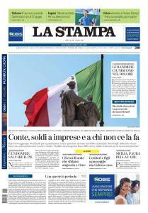 La Stampa Torino Provincia e Canavese - 1 Aprile 2020