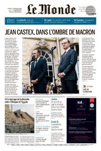 Le Monde du Dimanche 5 et Lundi 6 Juillet 2020