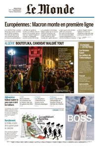 Le Monde du 5 Mars 2019