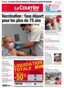 Le Courrier de l'Ouest Cholet – 15 janvier 2021