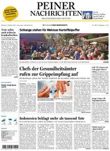 Peiner Nachrichten - 01. Oktober 2018