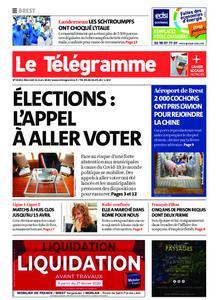 Le Télégramme Brest – 11 mars 2020