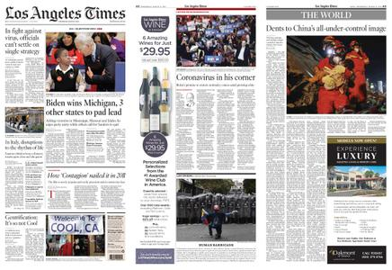 Los Angeles Times – March 11, 2020