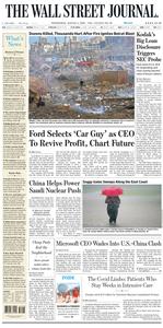 The Wall Street Journal – 05 August 2020