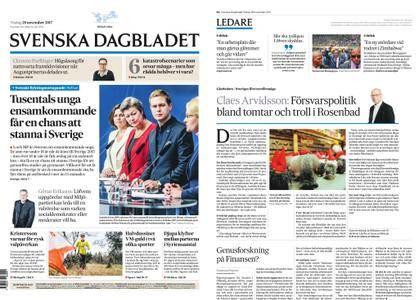 Svenska Dagbladet – 28 november 2017