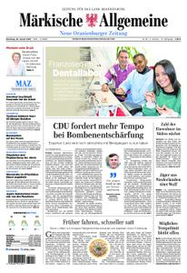 Neue Oranienburger Zeitung - 22. Januar 2019