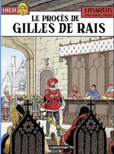Jhen - Tome 17 - Le procès de Gilles de Rais 2019