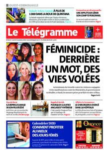 Le Télégramme Ouest Cornouaille – 25 novembre 2019