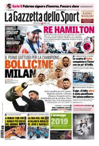 La Gazzetta dello Sport Sicilia – 31 dicembre 2018