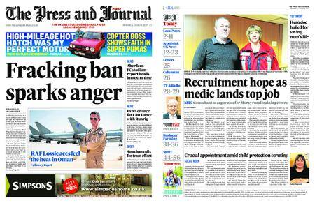 The Press and Journal Moray – October 04, 2017